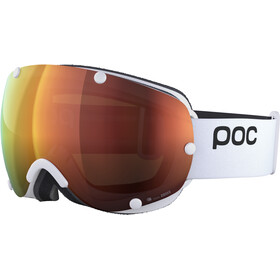POC Lobes Clarity Lunettes de protection, hydrogen white/spektris orange